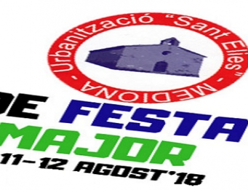 Festa Major 18- Sant Elies -10,11 i 12 d'Agost