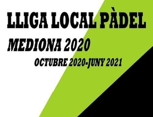 Lliga Local Pàdel a Mediona