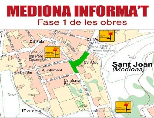 El proper dia 22 de febrer s'inicien les Obres de Reurbanització d'en carrer Florenci Gustems i la nova zona d'aparcament.